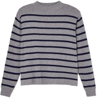 Entireworld Striped Crewneck Sweater