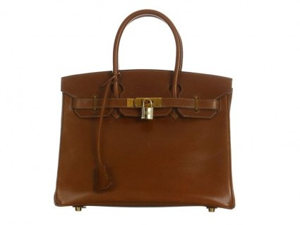 Hermes very good (VG Noisette 30cm Birkin Bag