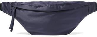 Elizabeth and James Satin Belt Bag - Navy