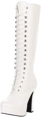 Pleaser USA Women's Electra-2020/W/PU Boot