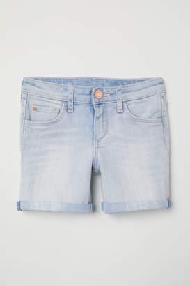 H&M Denim Shorts - Blue