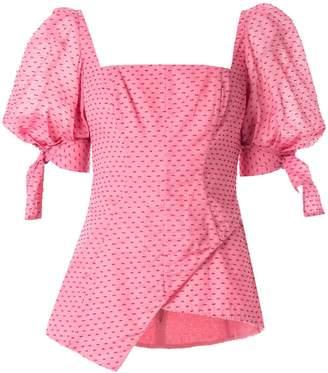Rachel Gilbert Loni puff sleeve top