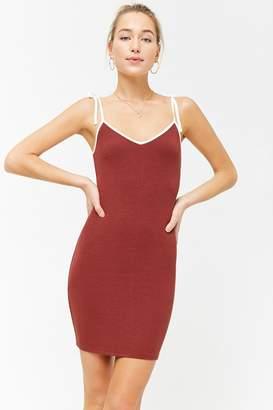 Forever 21 Ribbed Cami Mini Dress