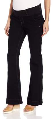 Maternal America Women's Maternity Megan Trouser Jean