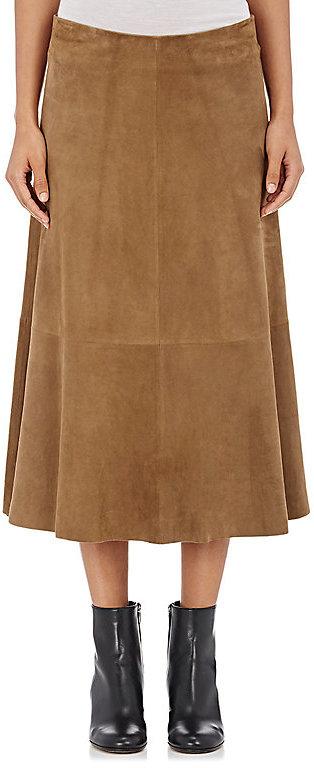 Tan A-line Skirt - ShopStyle Australia