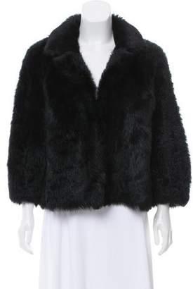 The Row Shearling Notch-Lapel Jacket