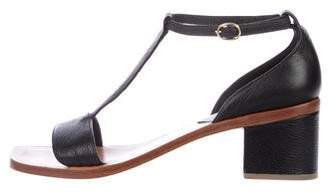 Rachel Comey Leather T-Strap Sandals