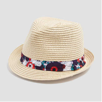 Joe Fresh Toddler Girls Straw Fedora