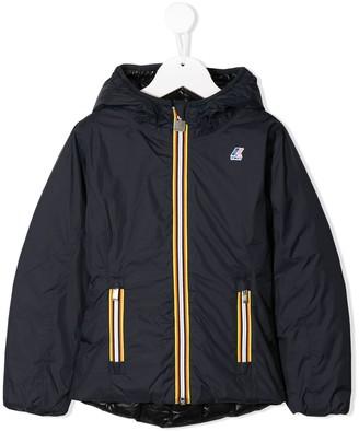 K Way Kids Lily reversible jacket