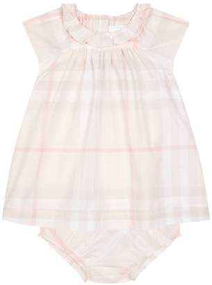 Burberry Checked Top and Bloomers Set