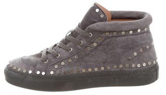 Laurence Dacade Hugh Studded Sneakers $295 thestylecure.com