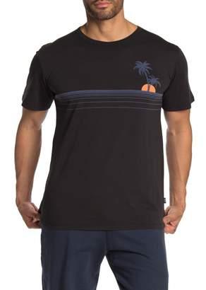Onia Johnny Palm Stripe T-Shirt