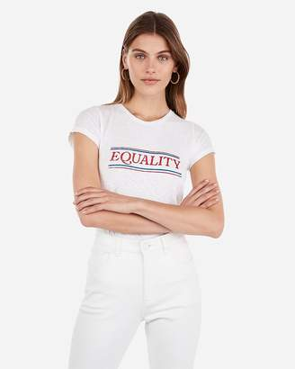 Express Equality Graphic Slim Tee