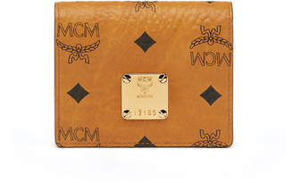 MCM Heritage Two Fold Card Wallet