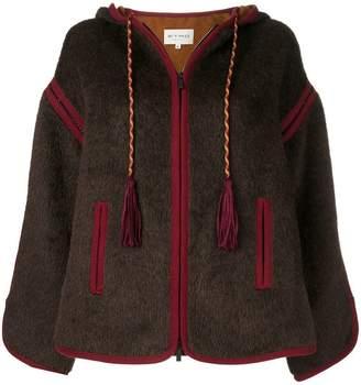 Etro zip-up hooded jacket