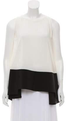Antonio Berardi Sleeveless Silk Top