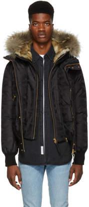 Mackage Black Lux Dixon JD Down Jacket
