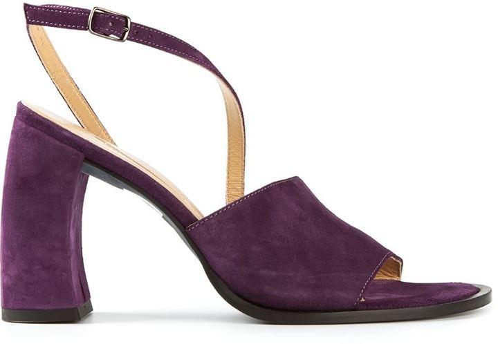 Ann Demeulemeester chunky heel sandals