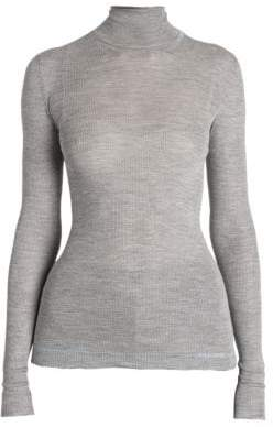 Prada Silk Turtleneck Sweater