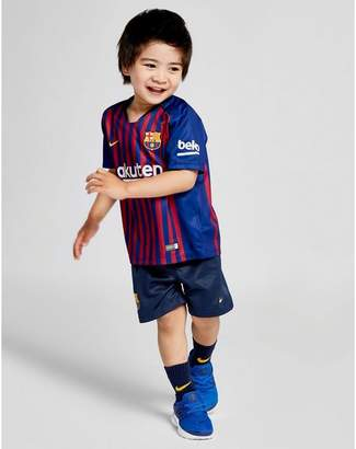 dc10f056a Nike 2018 19 FC Barcelona Stadium Home Baby Football Kit