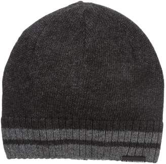 Ben Sherman Men's Placed Tiping Knit Beanie
