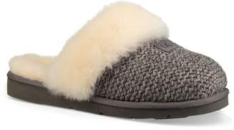UGG Cozy Knit Genuine Shearling Slipper