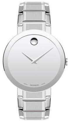 Movado Men's Sapphire Stainless Steel Bracelet Watch