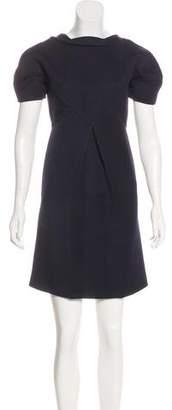 Fendi Virgin Wool Mini Dress w/ Tags