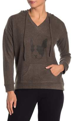 Theo and Spence Frenchie Super Soft Hoodie