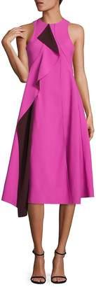 HUGO BOSS Women's Runway Dianea Ruffle Dress