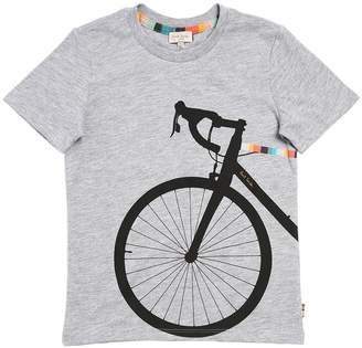 Paul Smith (ポール スミス) - PAUL SMITH JUNIOR 自転車プリント コットンジャージーTシャツ