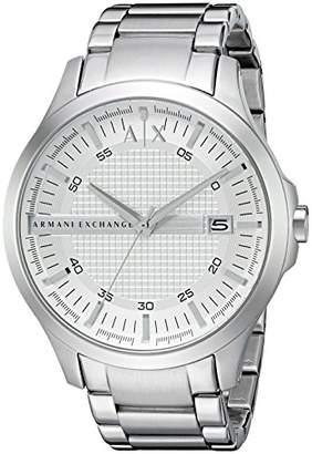 42a9644df2c Armani Exchange Men s Quartz Watch with Stainless Steel Strap AX2177