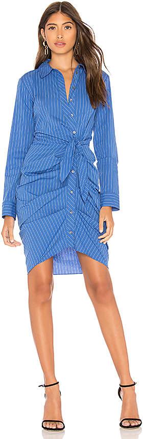 1. STATE Button Down Shirt Dress