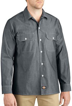 Dickies Button-Up Chambray Shirt - Big & Tall