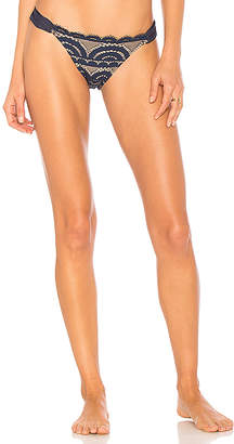 Pilyq Lace Fanned Bikini Bottom