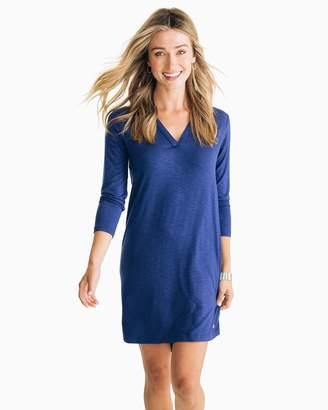 Southern Tide Jamie 3/4 Sleeve V-Neck Knit Dress