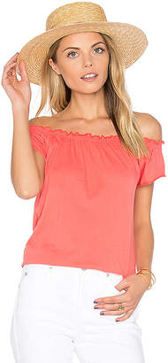 Chaser Boho Tee in Coral $57 thestylecure.com
