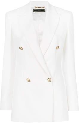 Versace Medusa button blazer