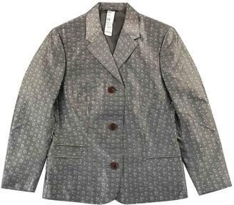 Gianni Versace White Silk Jacket for Women Vintage