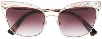 Valentino Eyewear cat eye effect sunglasses