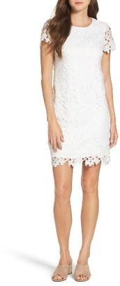 Women's Betsey Johnson Lace Shift Dress $148 thestylecure.com