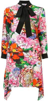 Mary Katrantzou floral print asymmetric dress