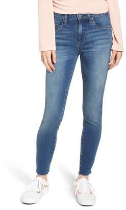 The Great BLANKNYC Denim Jones Raw Hem Skinny Jeans (One Shade Up)