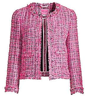 Kate Spade New York Kate Spade New York Women's Multi Tweed Jacket