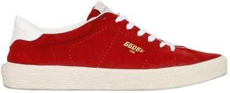 Golden Goose Suede Tennis Sneakers