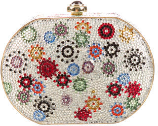 Judith Leiber Crystal Embellished Clutch $895 thestylecure.com