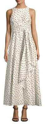 Diane von Furstenberg Silk Polka Dot Dress