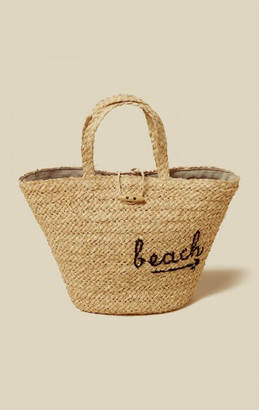 Hat attack take me to the beach bag $104 thestylecure.com