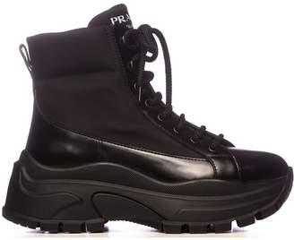 Prada Combat Boot