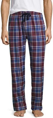 Izod Mens Big & Tall Flannel Pajama Pants